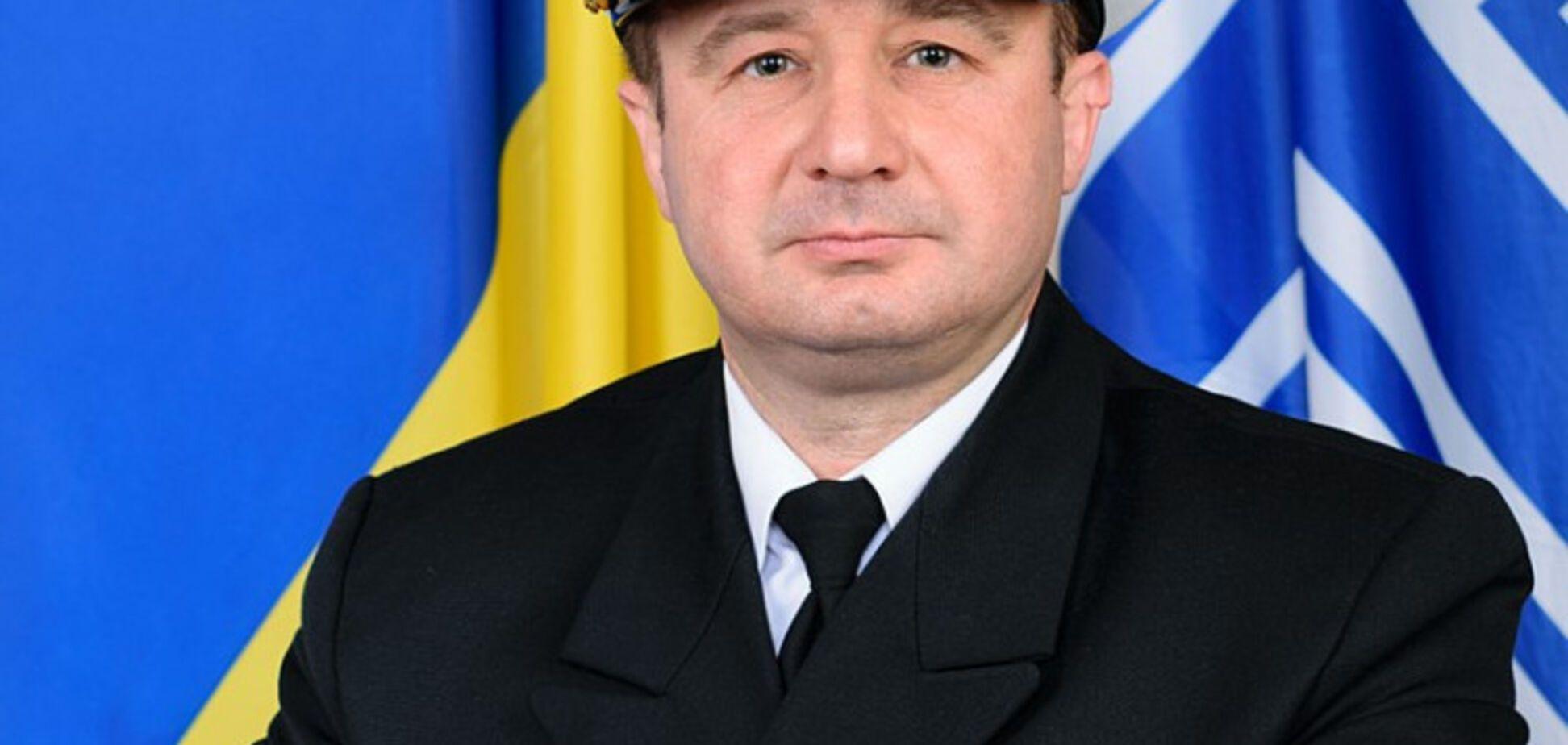 За зв'язок із Росією: начальника штабу ВМС усунули з посади