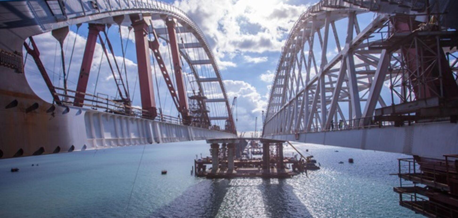 Запуск Керченського моста: окупанти озвучили терміни
