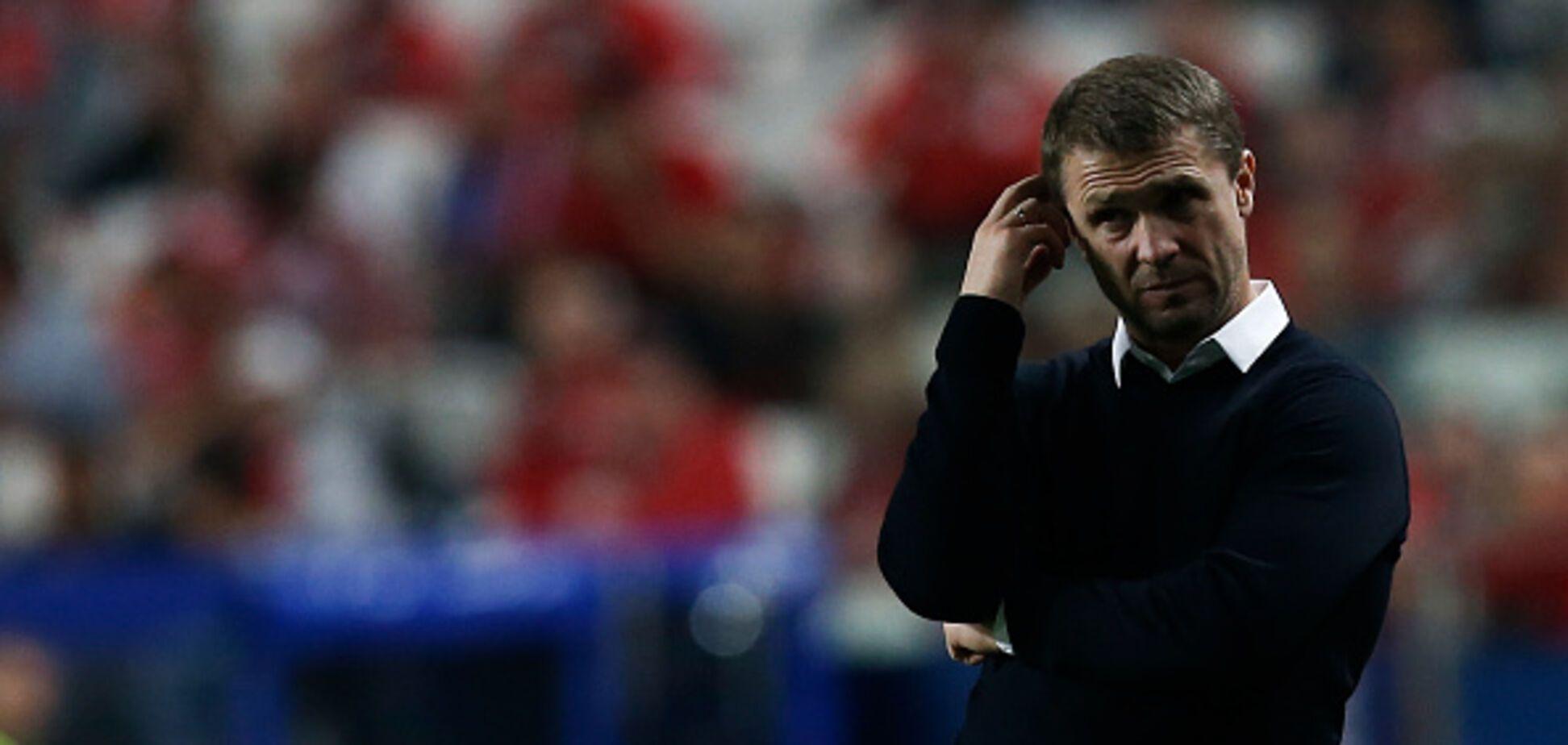 Офіційно: Сергія Реброва вигнали з нового клубу