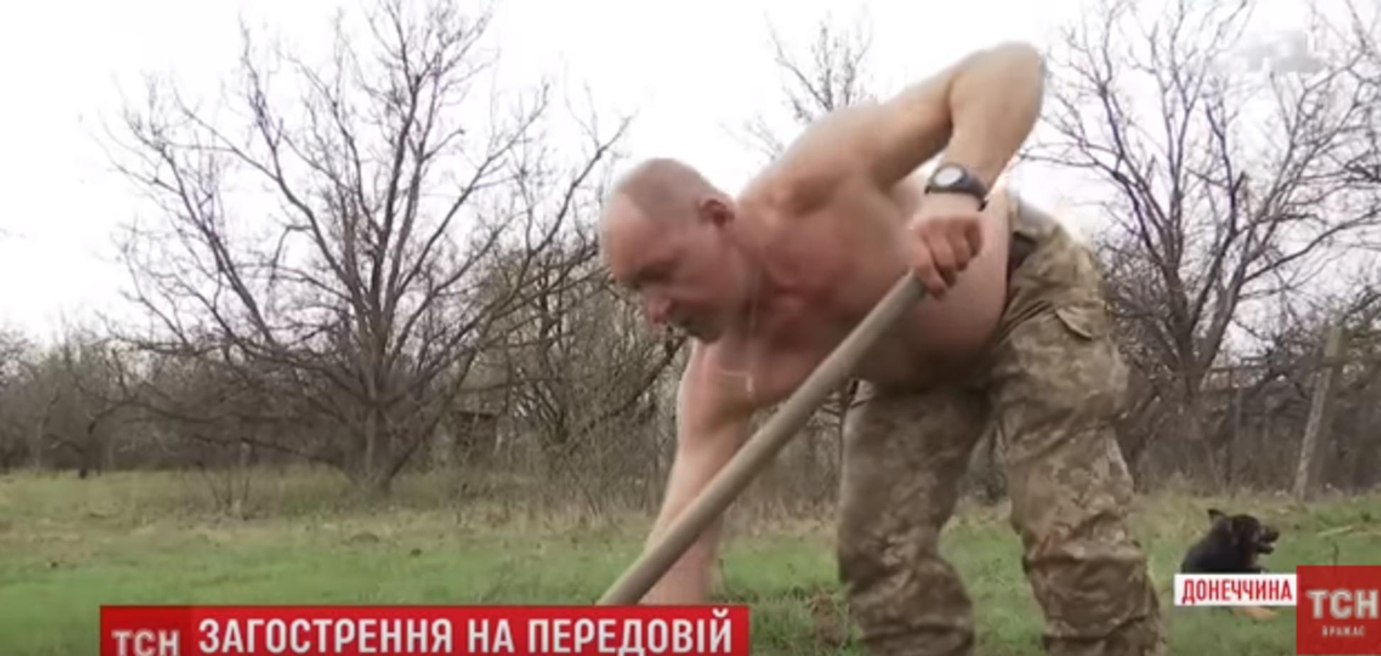 Ризикнув життям: АТОшник вразив вчинком заради загиблого на Донбасі воїна