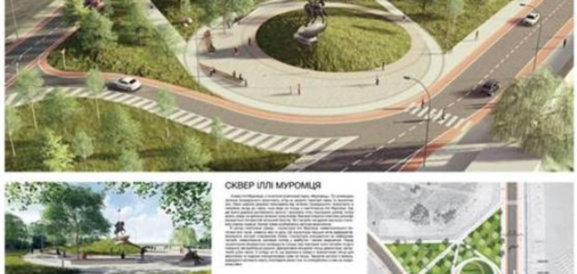 Аллея воспоминаний и велодорожки: каким будет парк 'Муромец'