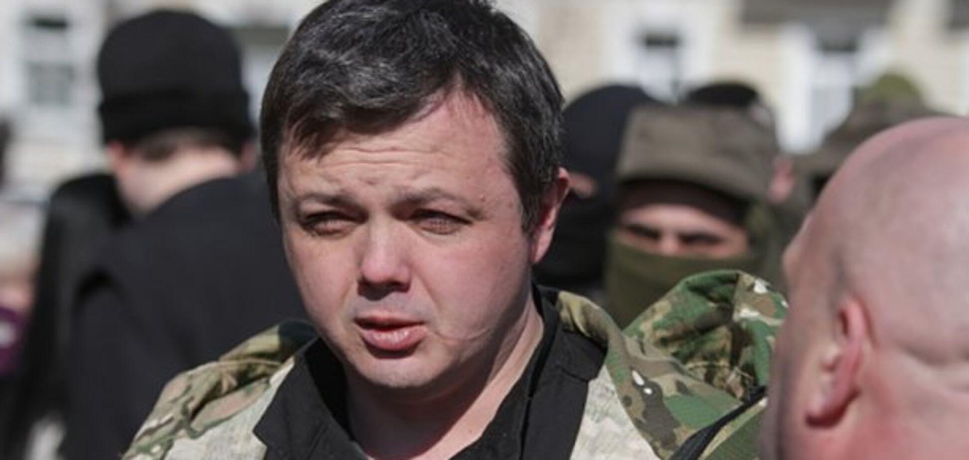 С Семенченко могут снять неприкосновенность - СМИ