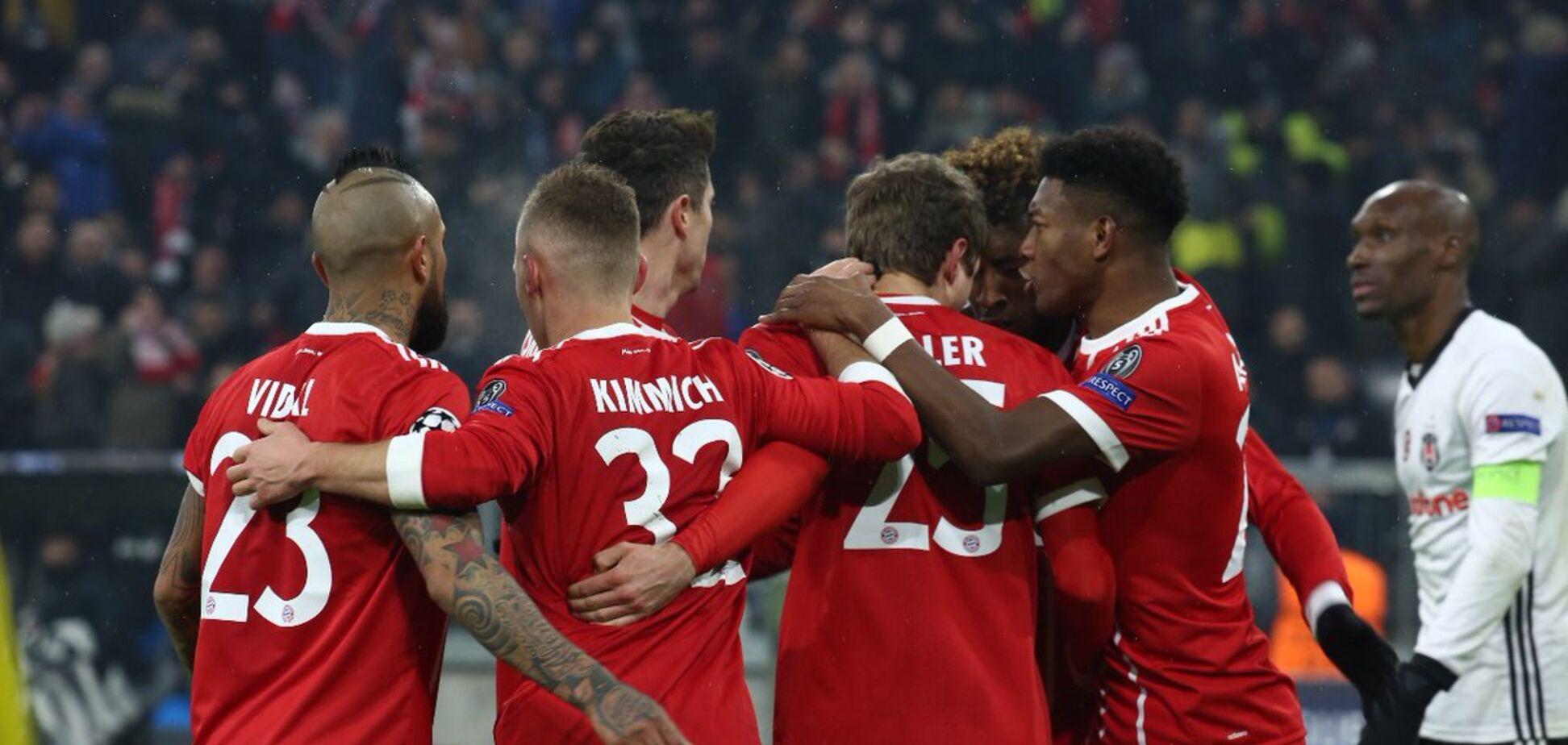 Севілья - Баварія: онлайн-трансляція матчу 1/4 фіналу Ліги чемпіонів