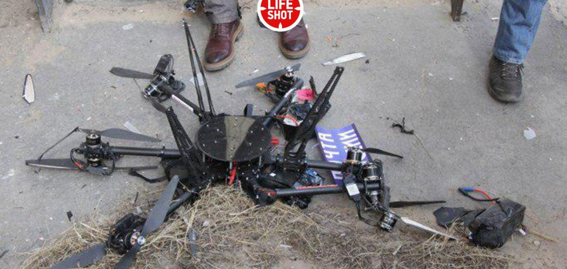 Перший дрон 'Пошти Росії' врізався в будинок