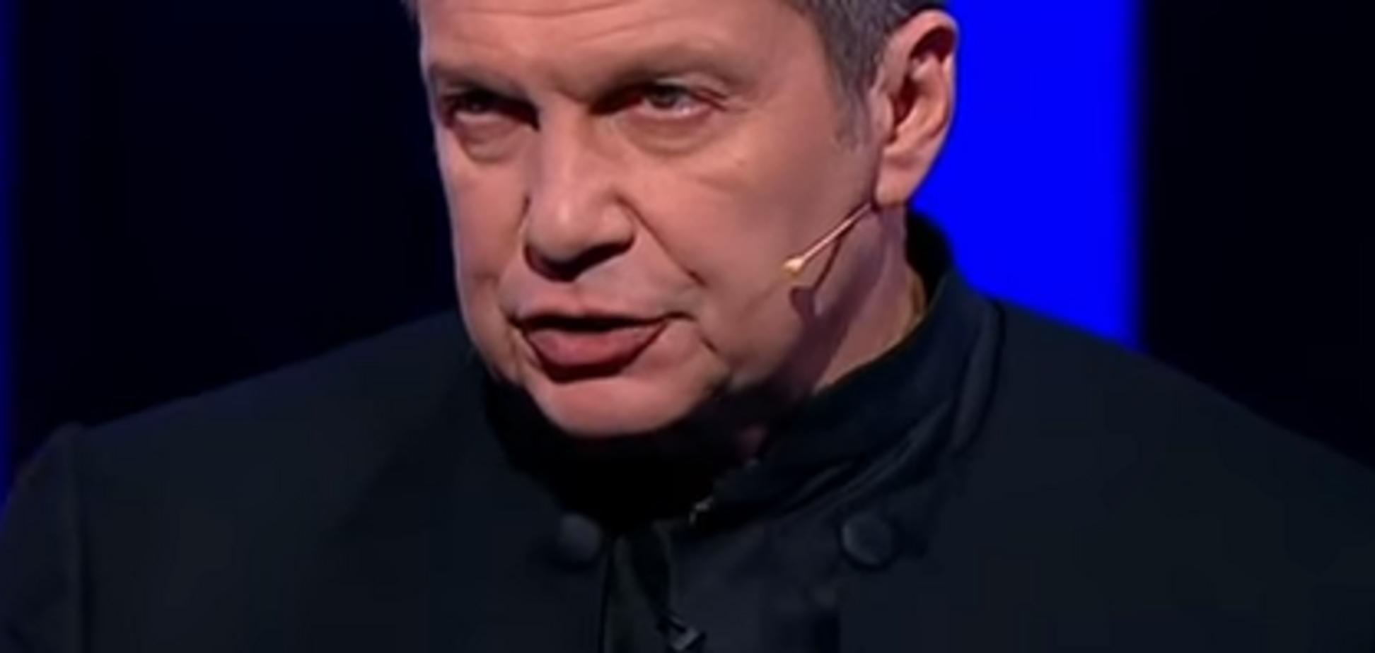 'Не дай Бог его убьют': Соловьев публично пригрозил украинскому пранкеру из-за трагедии в Кемерово