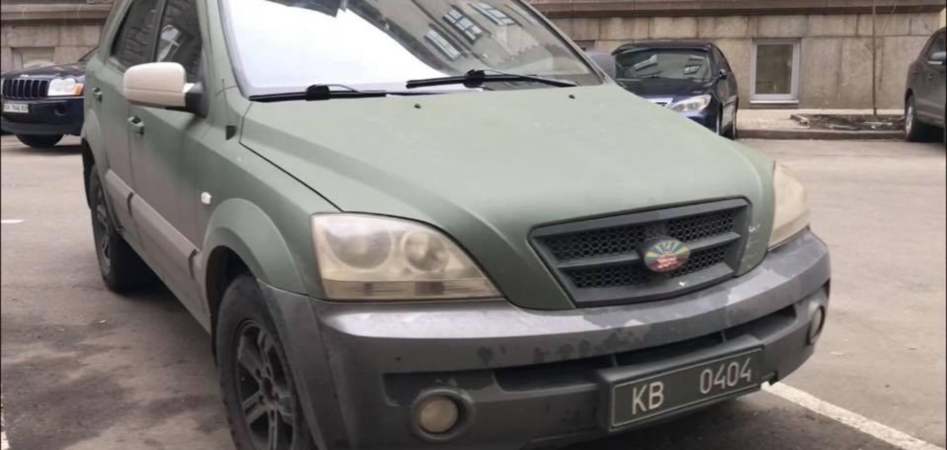 Ездит незаконно: всплыли новые детали о скандальном авто Гаврилюка