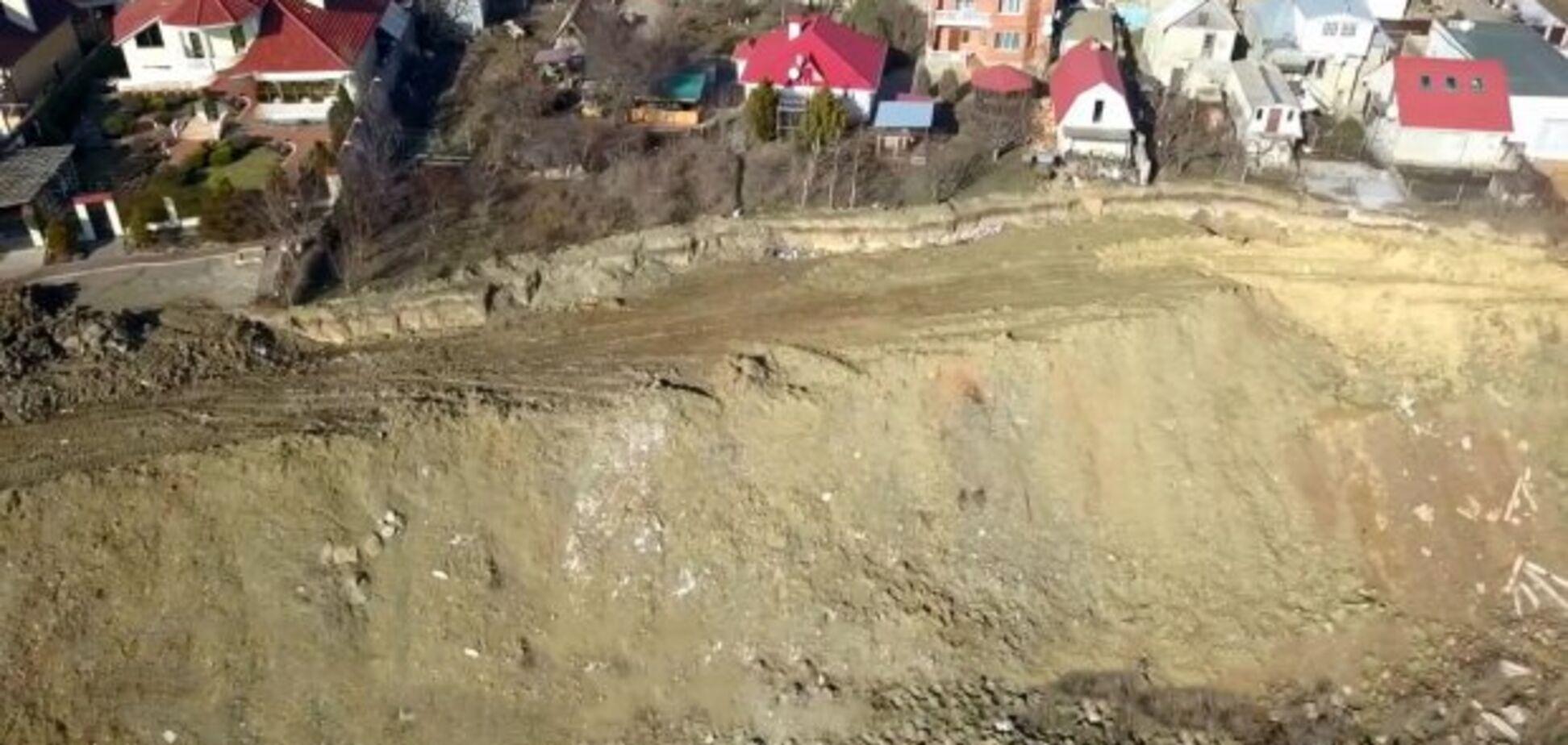 Дома Одессы ушли под землю: фото исчезнувших улиц