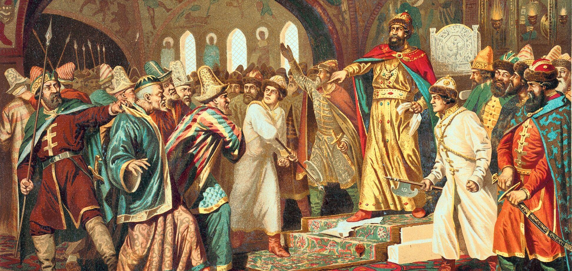 Москву підняла Золота Орда - український історик