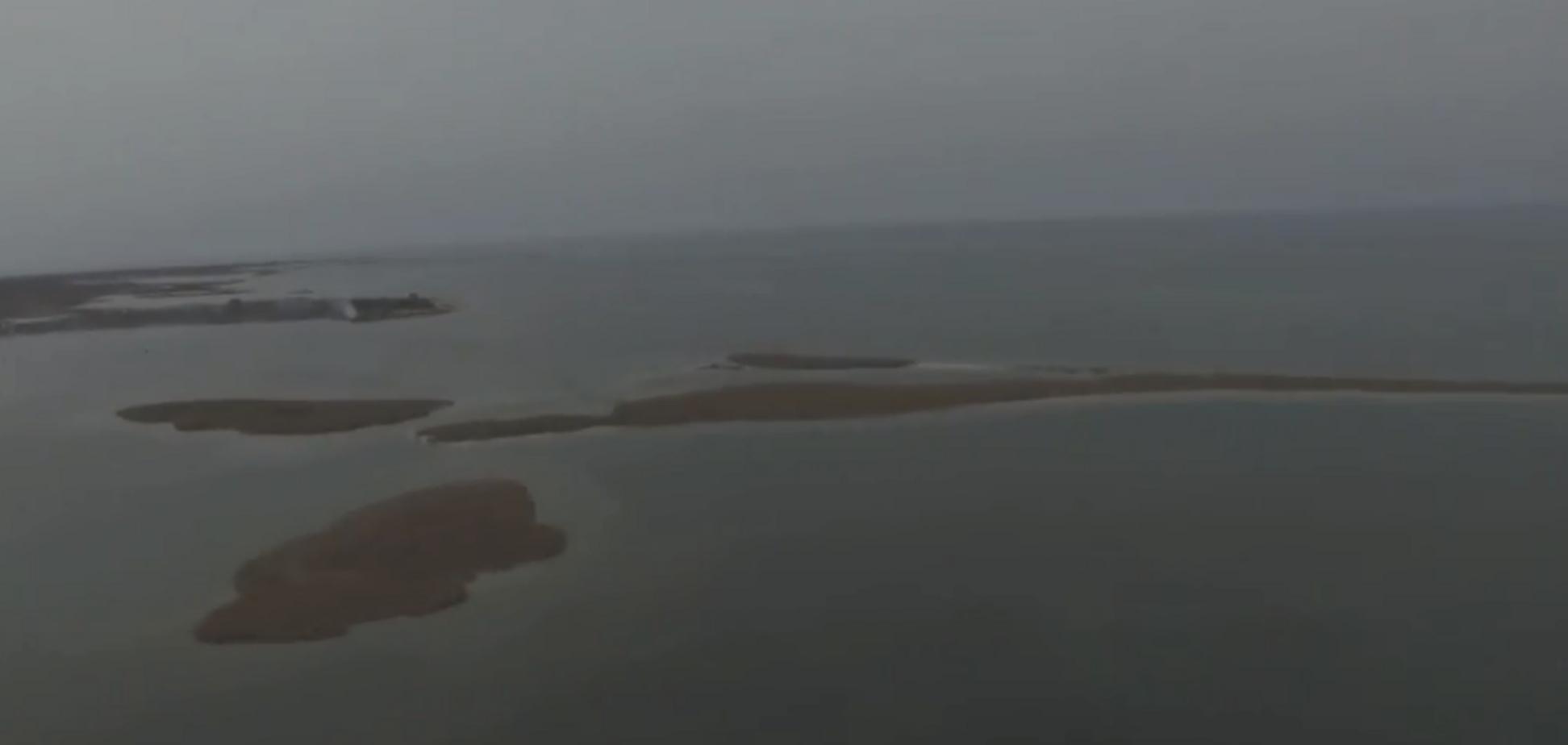 Україна втратила острів в Азовському морі: названа причина