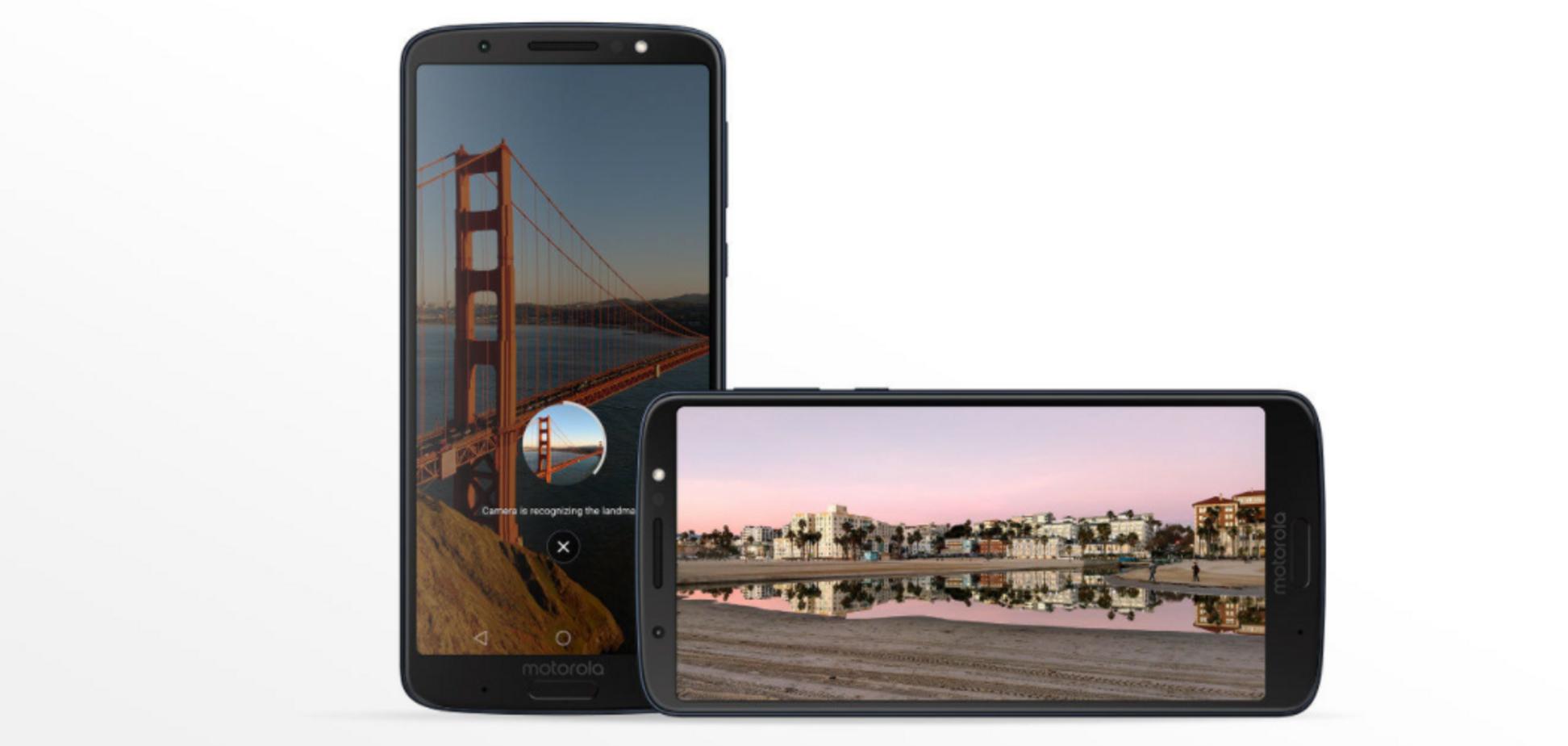 6 дюймів недорого: Motorola представила бюджетні смартфони
