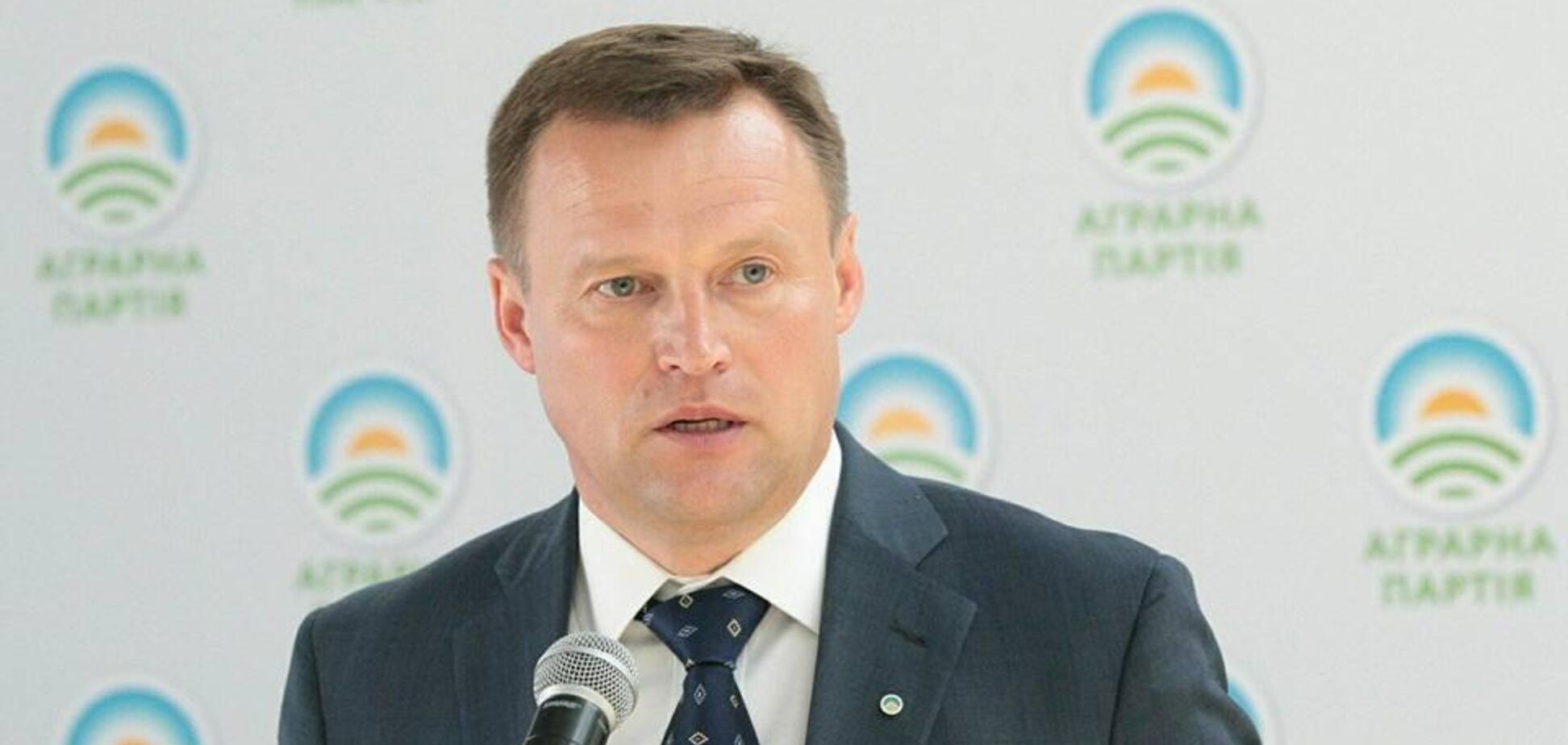Аграрная партия планирует получить 21% на выборах - Виталий Скоцик