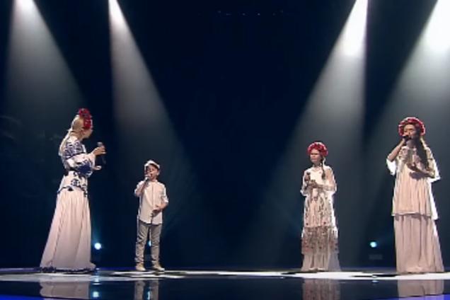 """В российском """"Голосе.Дети"""" исполнили украинскую народную песню: видеофакт"""