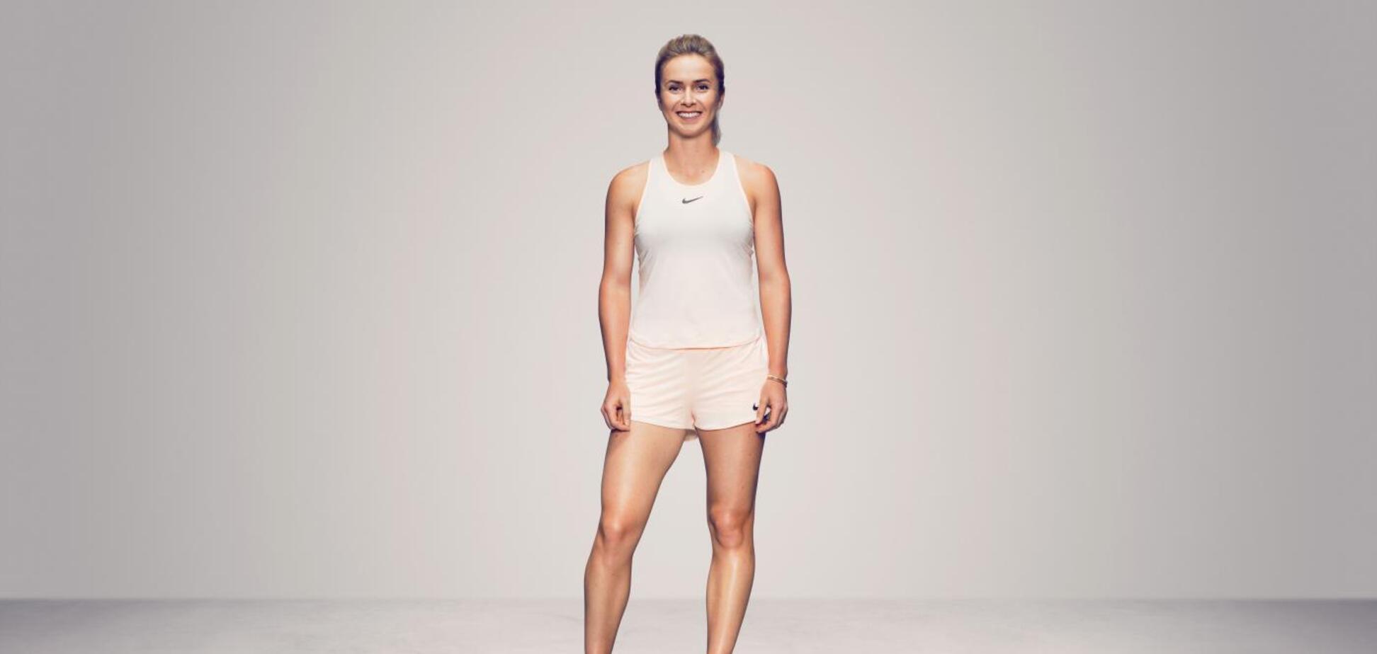 Свитолина снялась в роскошной эксклюзивной фотосессии для WTA
