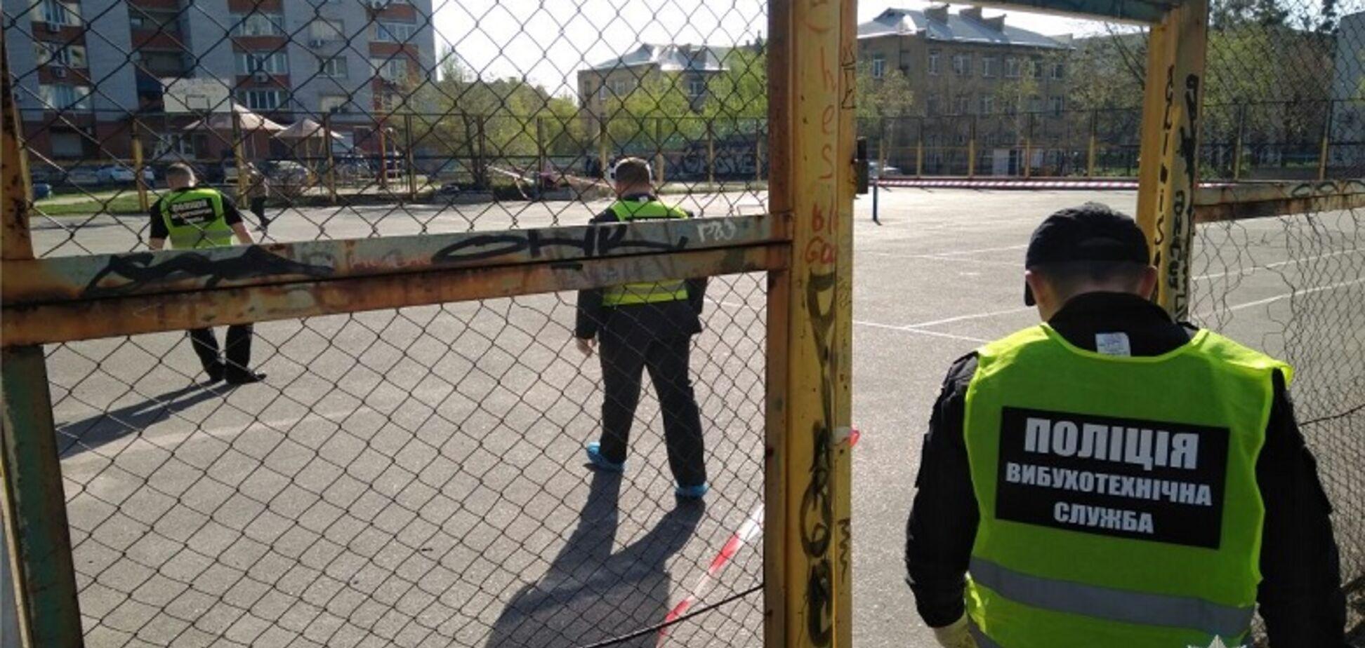 У Києві прогримів вибух на спортмайданчику