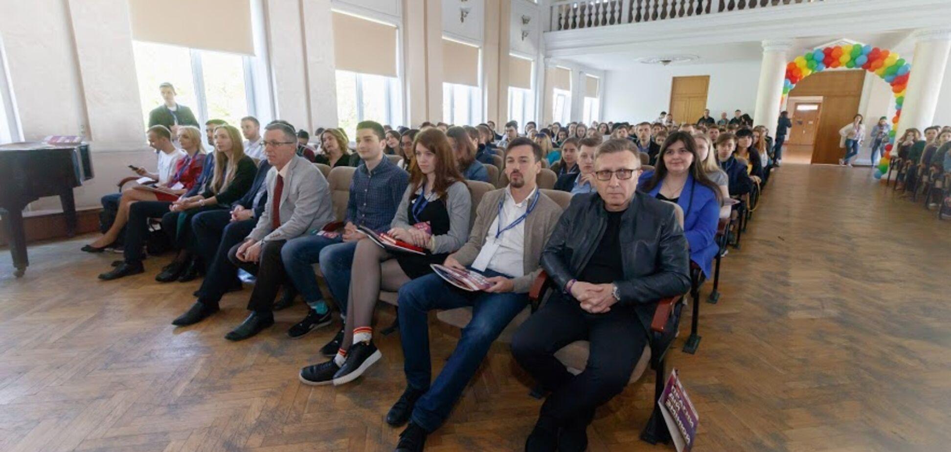 Форум 'Молодежь Днепра - 2018' собрал более полутысячи участников со всей страны