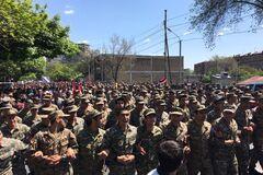 Військові Вірменії перейшли на бік протестувальників