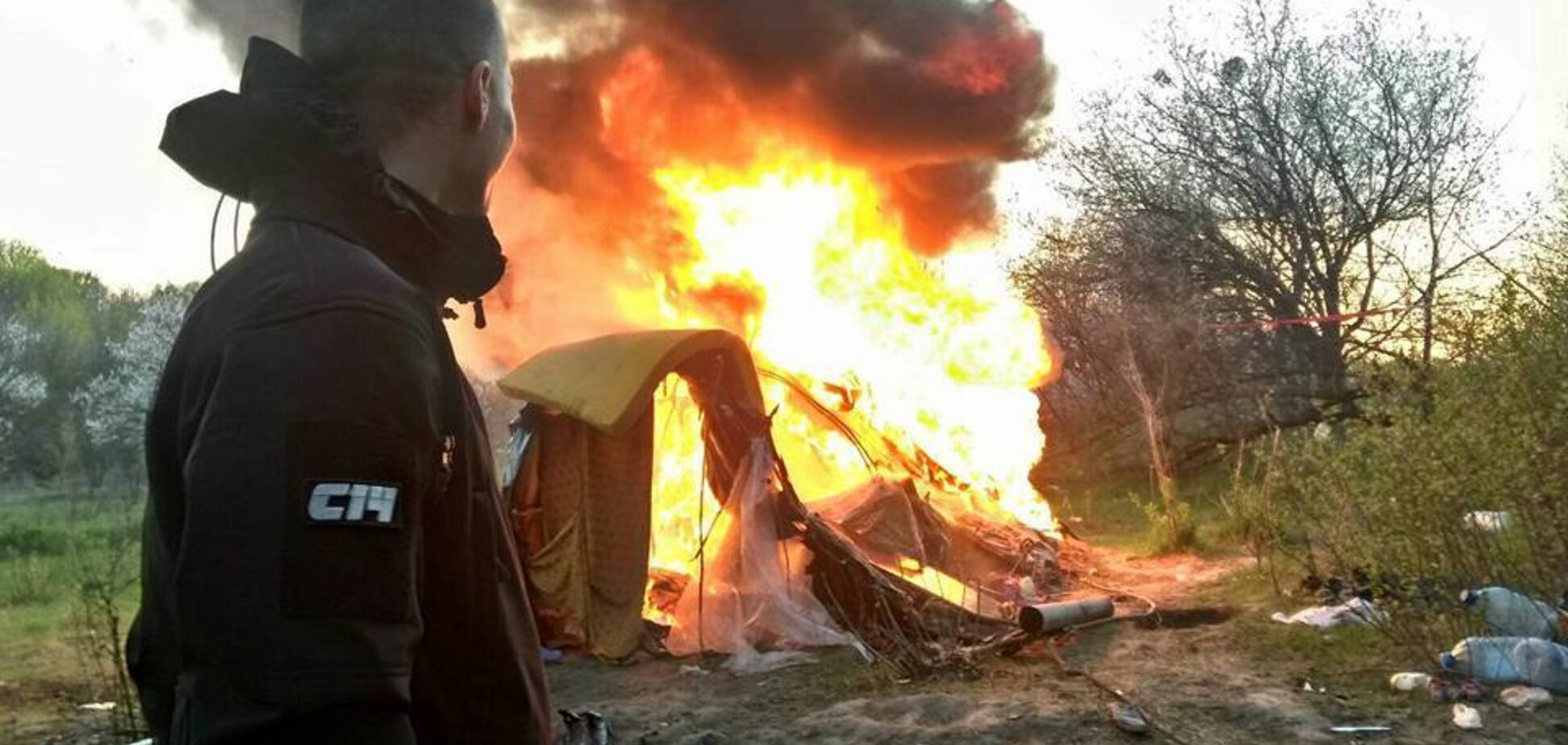 Атака на лагерь ромов в Киеве: в полиции объяснили ситуацию