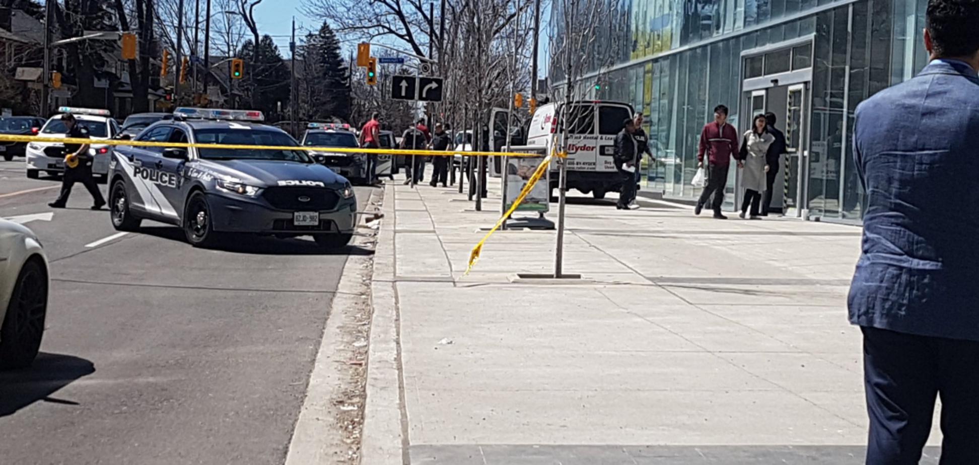 У Торонто фургон протаранив натовп: 10 загиблих, 15 постраждалих