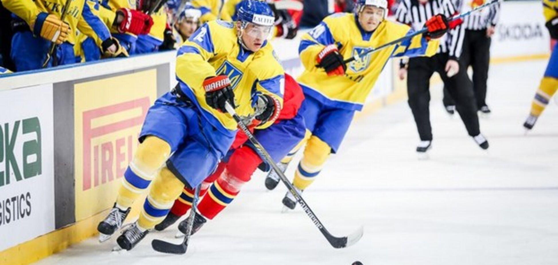 Украина проиграла второй матч на ЧМ по хоккею