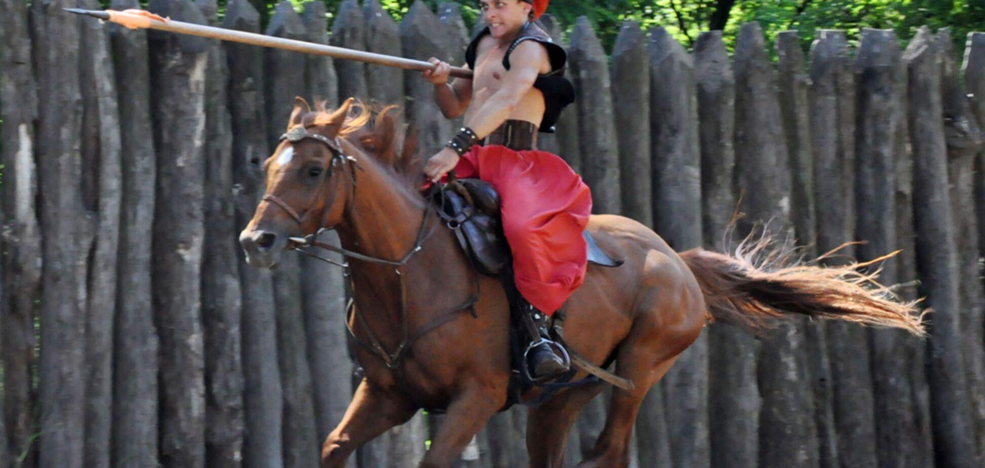 Экскурсия в конный театр 'Запорожские казаки', 27.05