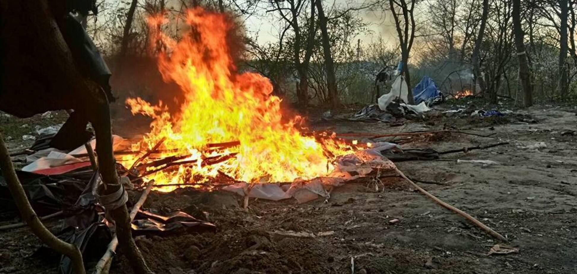 Атака на лагерь ромов в Киеве: появились новые детали