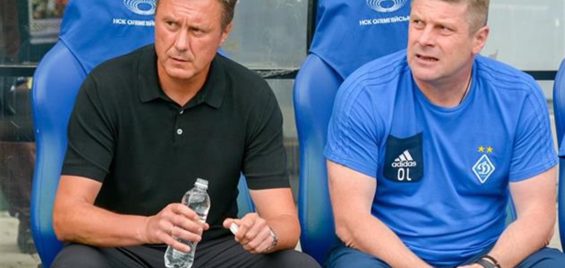 Тренер 'Динамо' прокомментировал свой 'трансфер' в Англию