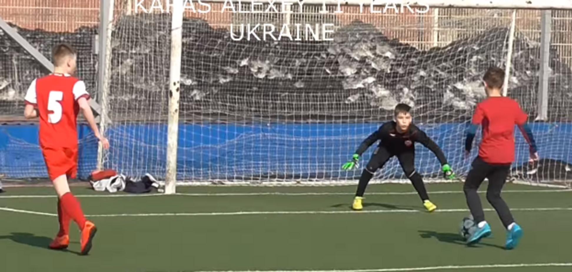 'Украинский Месси' забил гол-шедевр 'подсечкой'