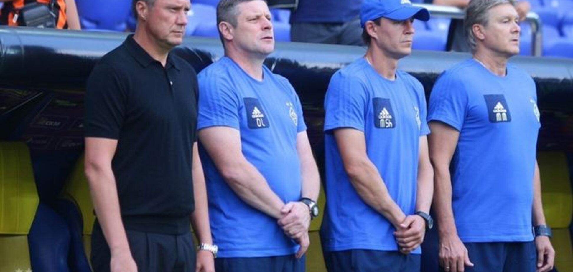СМИ: англичане решили сманить тренера 'Динамо'