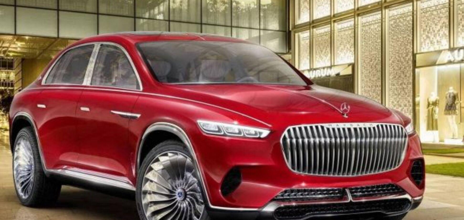 Maybach для Китая: Mercedes-Benz удивил концептом кроссовера