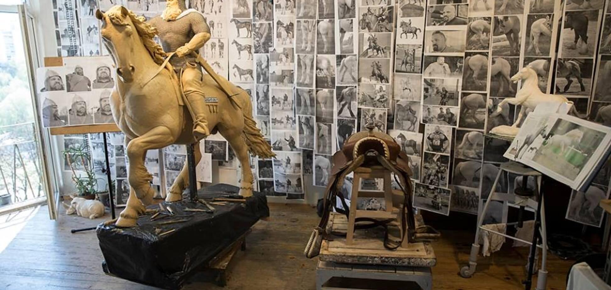Украинский богатырь стал моделью для памятника Илье Муромцу