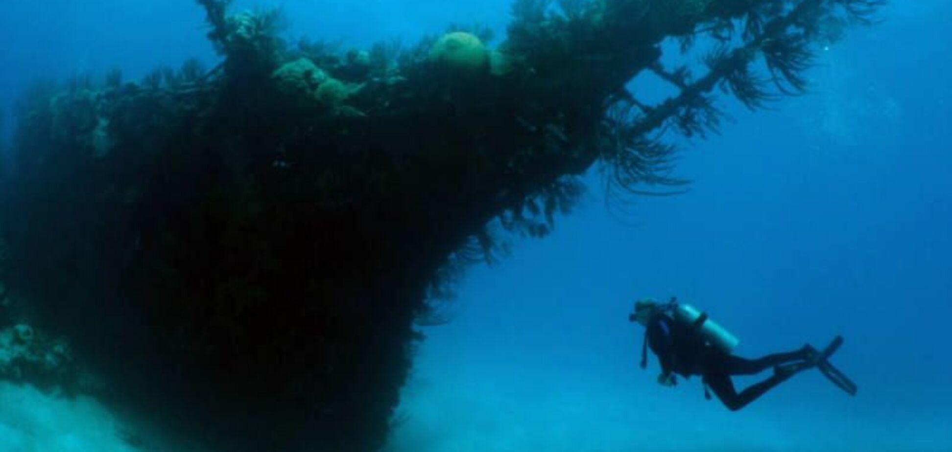 Запорожец нашел немецкий корабль на дне Днепра