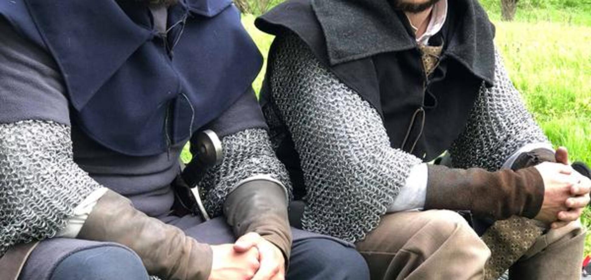 На Хортице снимают исторический боевик: тизер