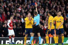 'Арсенал' со скандалом упустил победу в полуфинале Лиги Европы