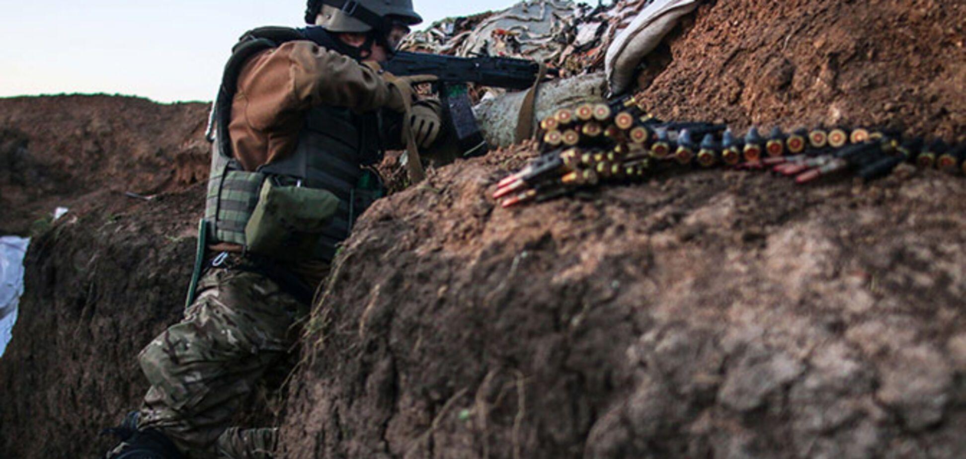 Террористы напали на силы АТО