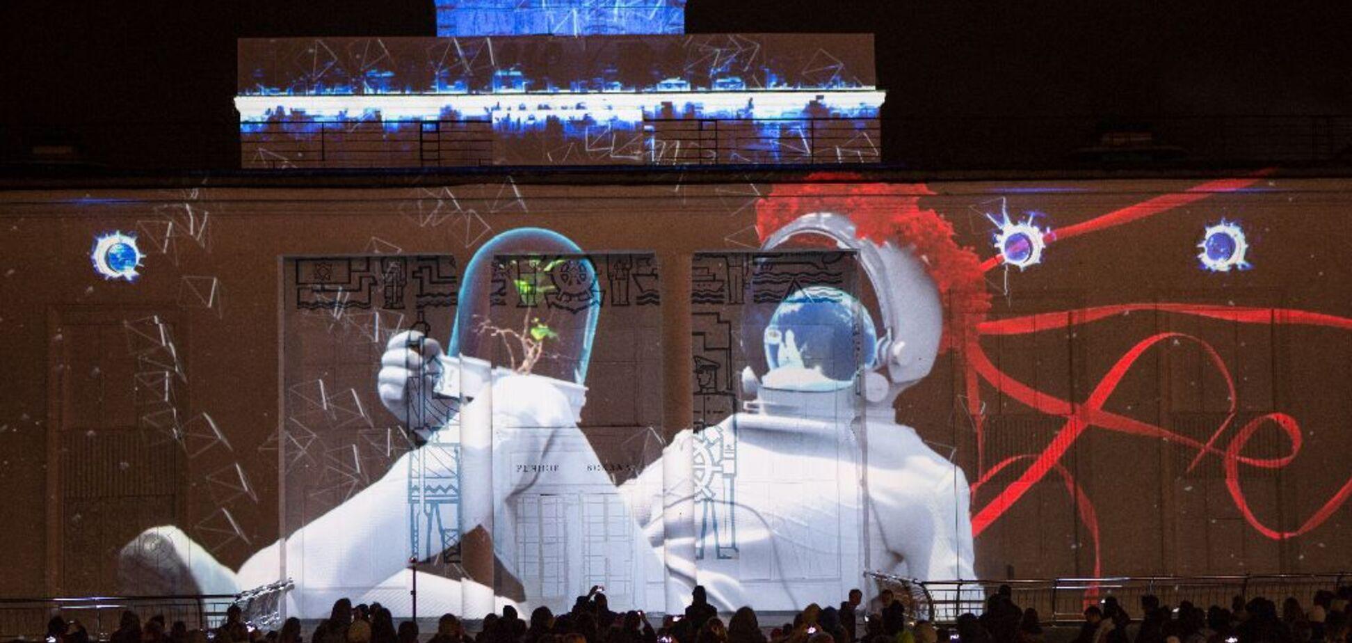 В Киеве объявили победителей конкурса световых инсталляций