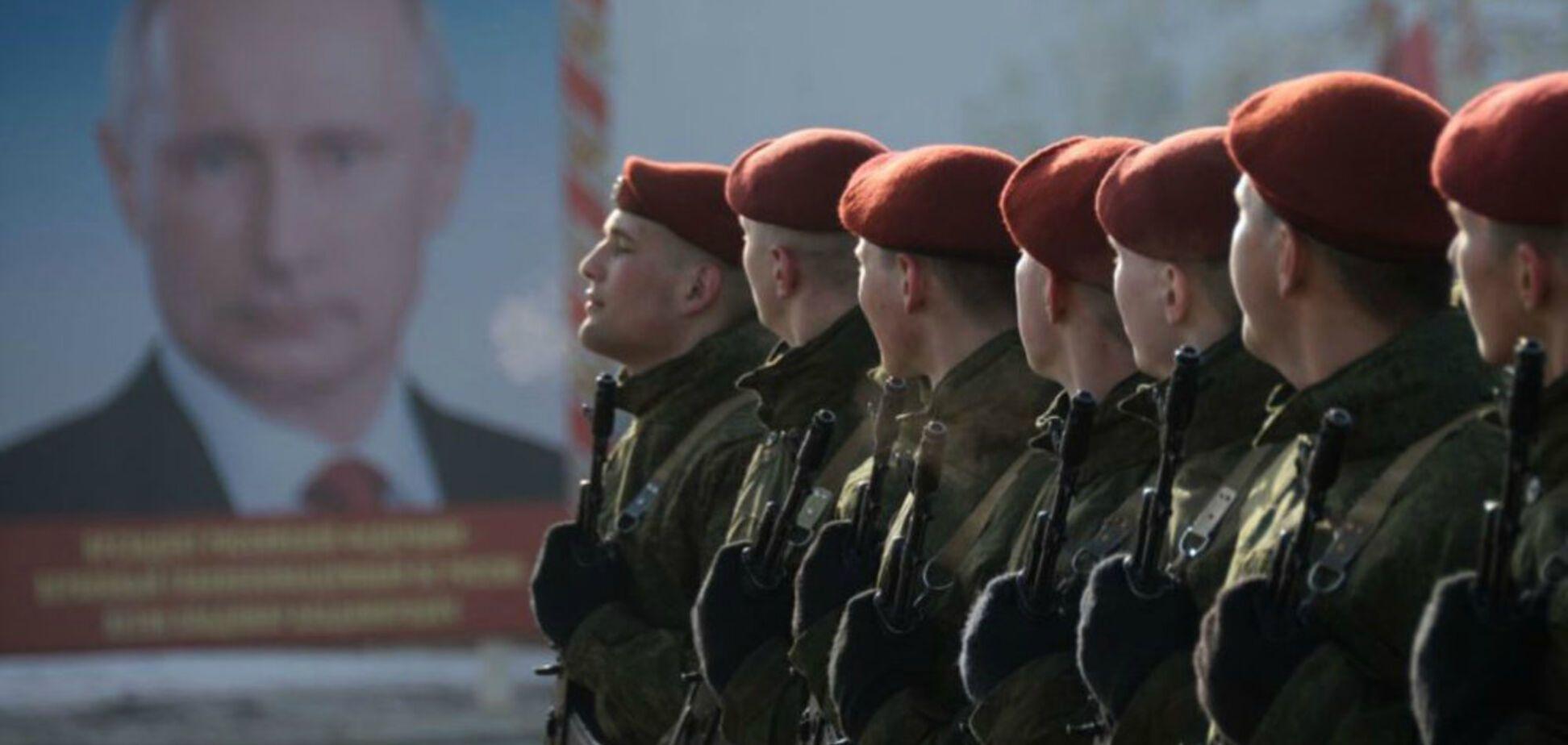 Спецвійська Путіна вводять на Донбас