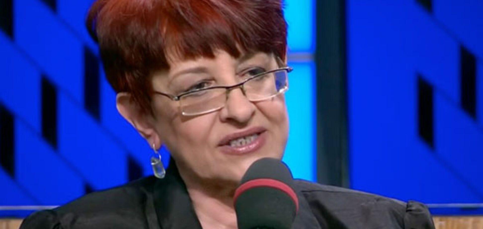 Сбежавшая в Россию украинская журналистка попросила о помощи