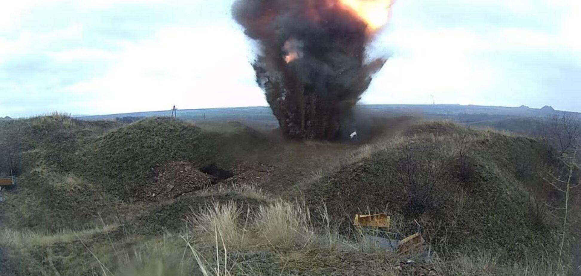На Донбасі вибухнув прихований арсенал: є загиблі серед бойовиків