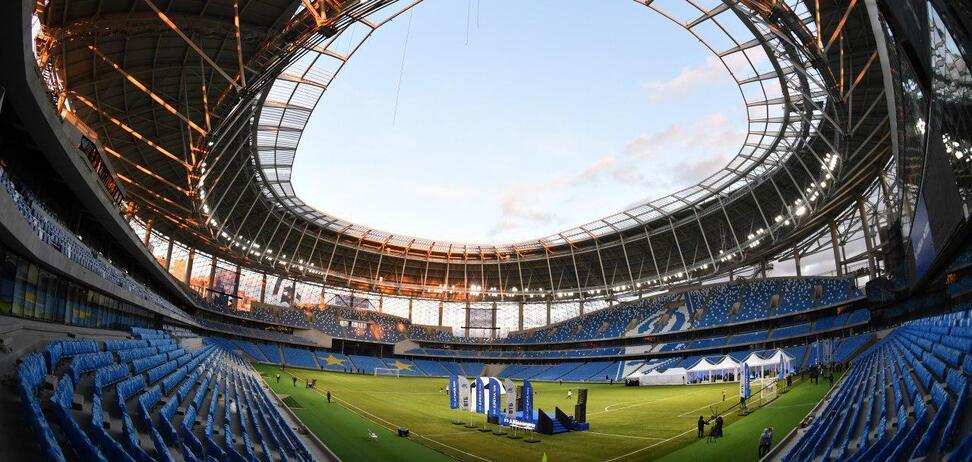 У Москві новий стадіон 'Динамо' не пережив погодний катаклізм: фотофакт