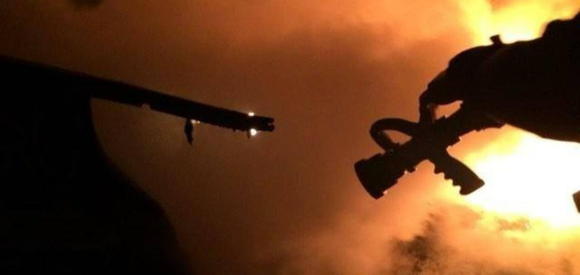 Все у вогні: під Києвом сталась масштабна пожежа