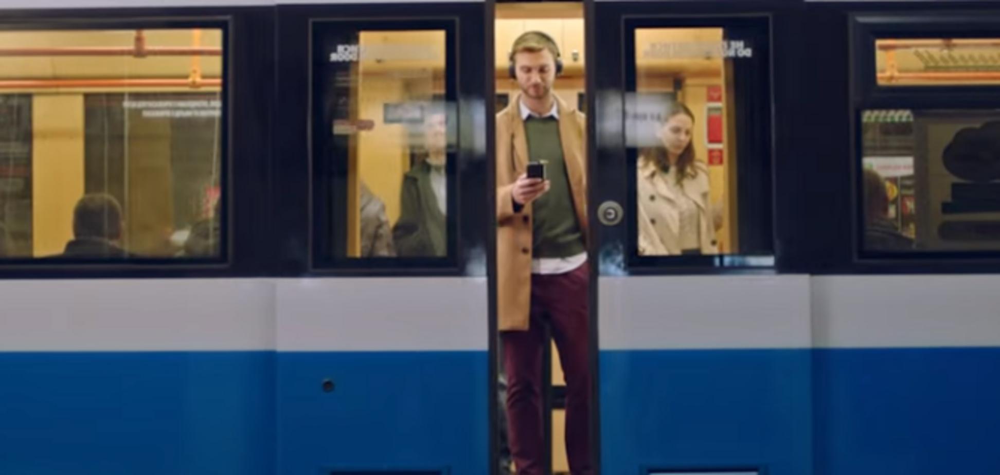 Google снял рекламу в киевской подземке