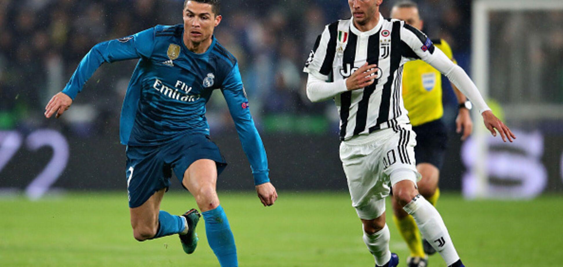 'Реал' разгромил 'Ювентус' в четвертьфинале Лиги чемпионов