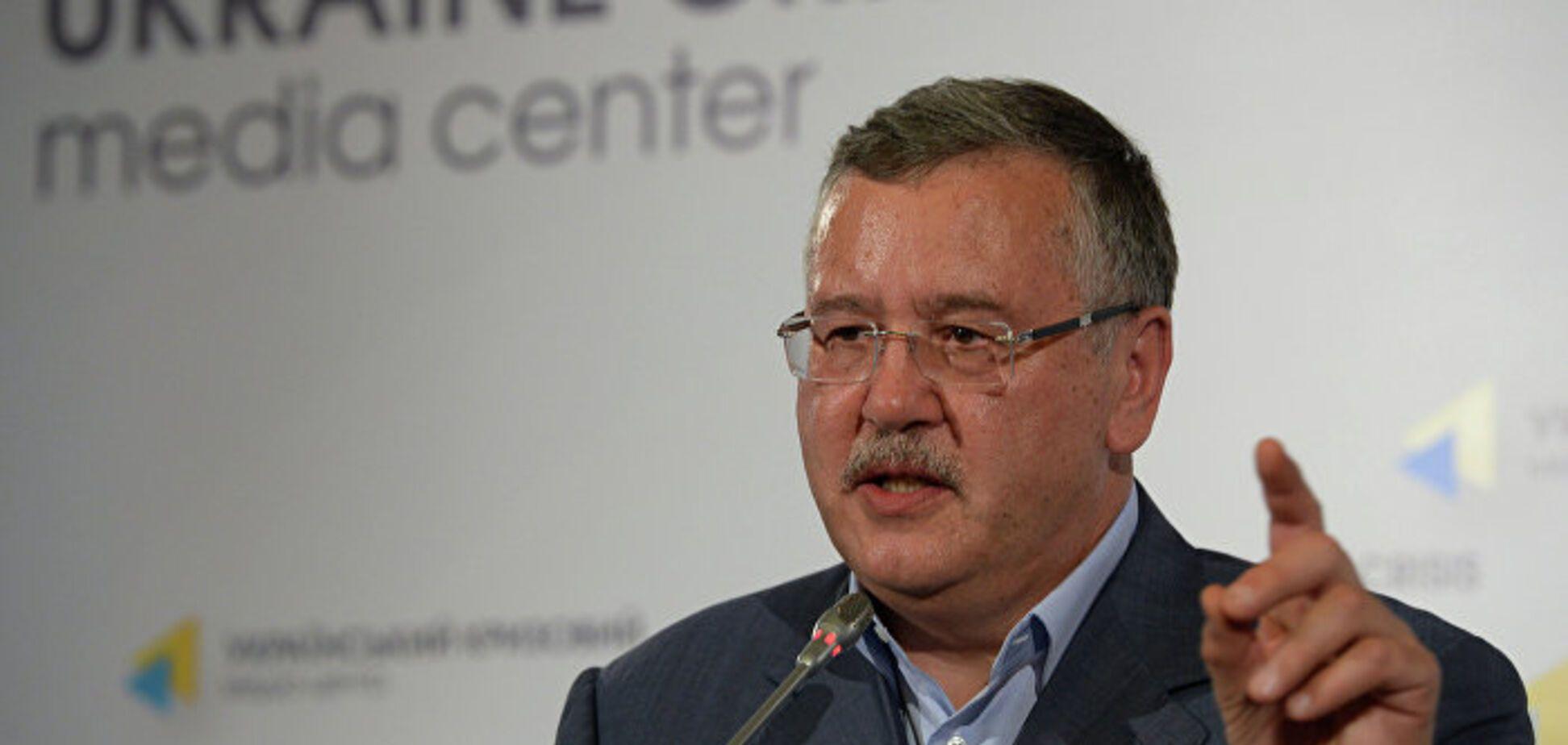 Гриценко обещает посадить многих, кто сегодня у власти