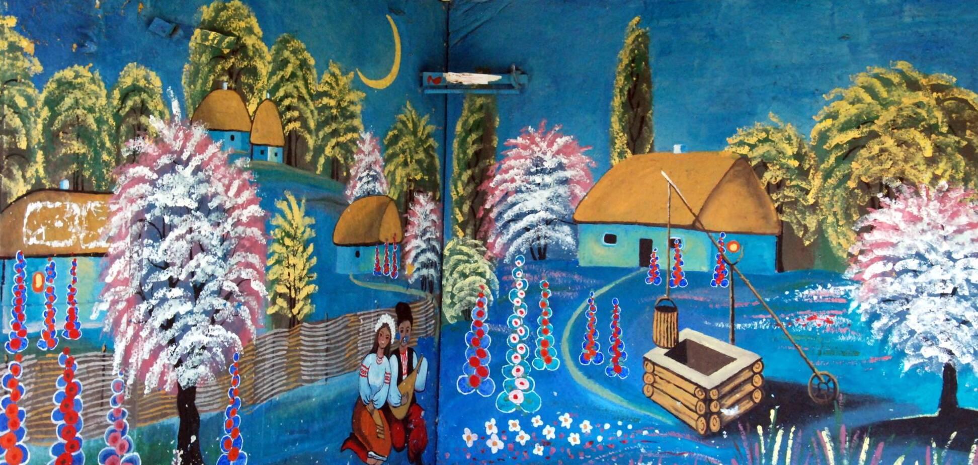 В селе на Киевщине нашли удивительные остановки: фотофакт