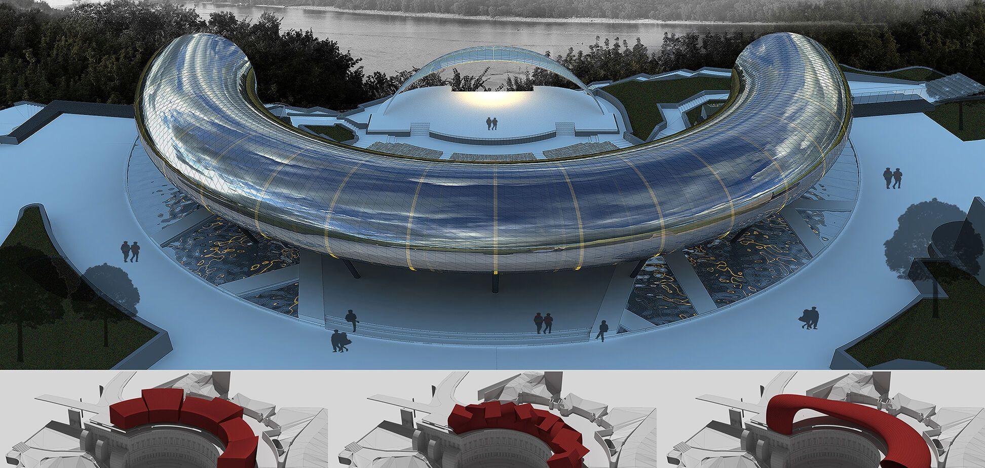 З Зеленого театру хочуть зробити гігантський магніт