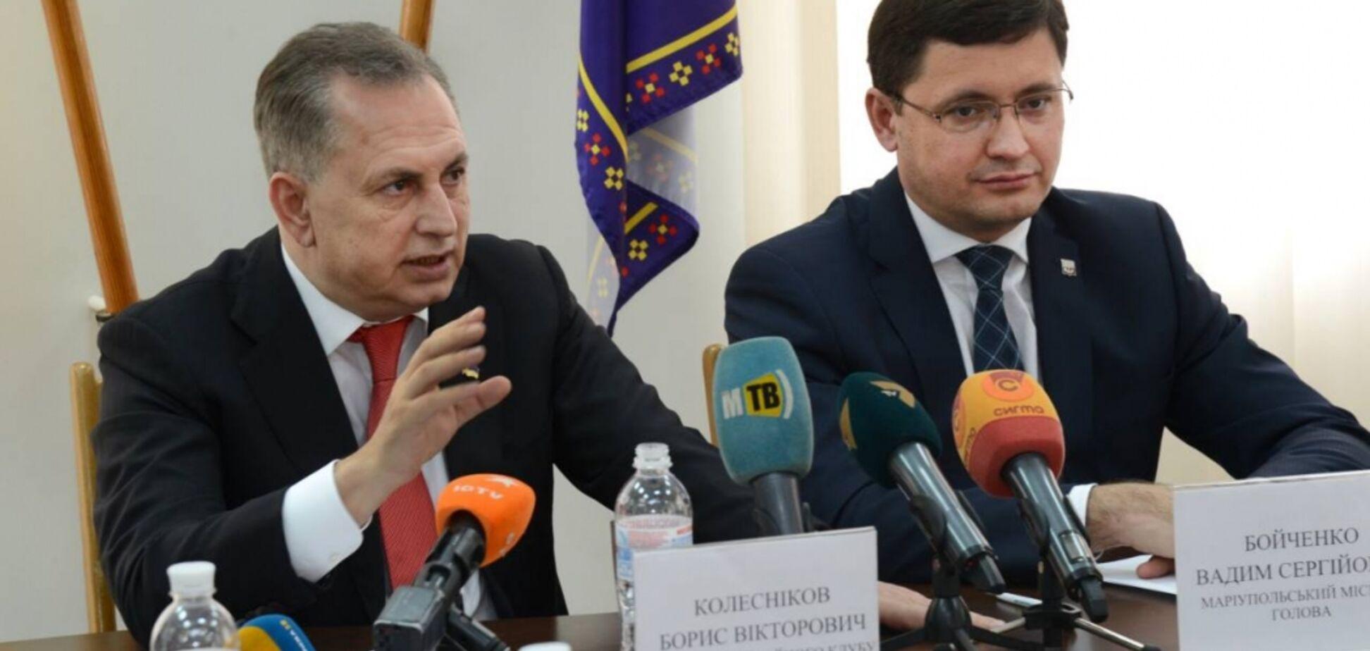 Колесников анонсировал строительство двух ледовых площадок в Мариуполе