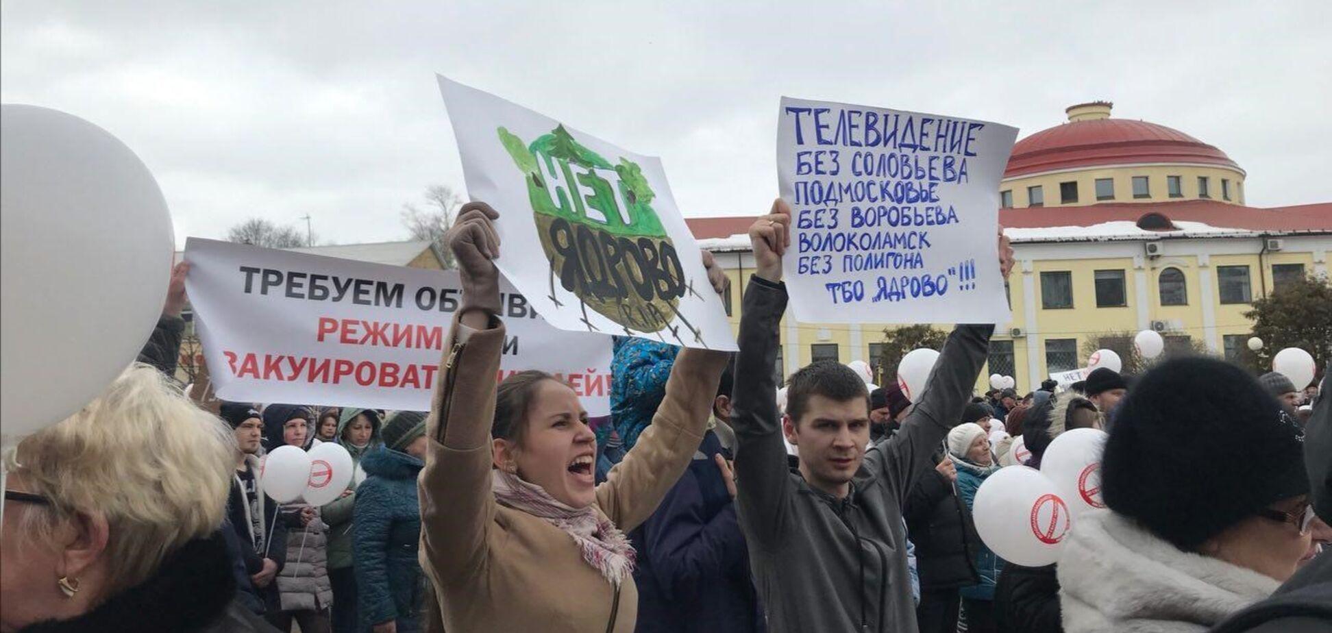 'Путін допоможи': в Росії розповіли про долю протестів в Кемерово і Волоколамську