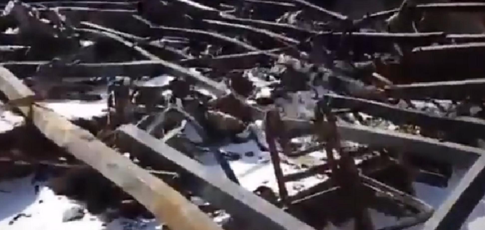'Здесь было семь тел': фанат Путина Востриков показал видео из сгоревшего ТЦ