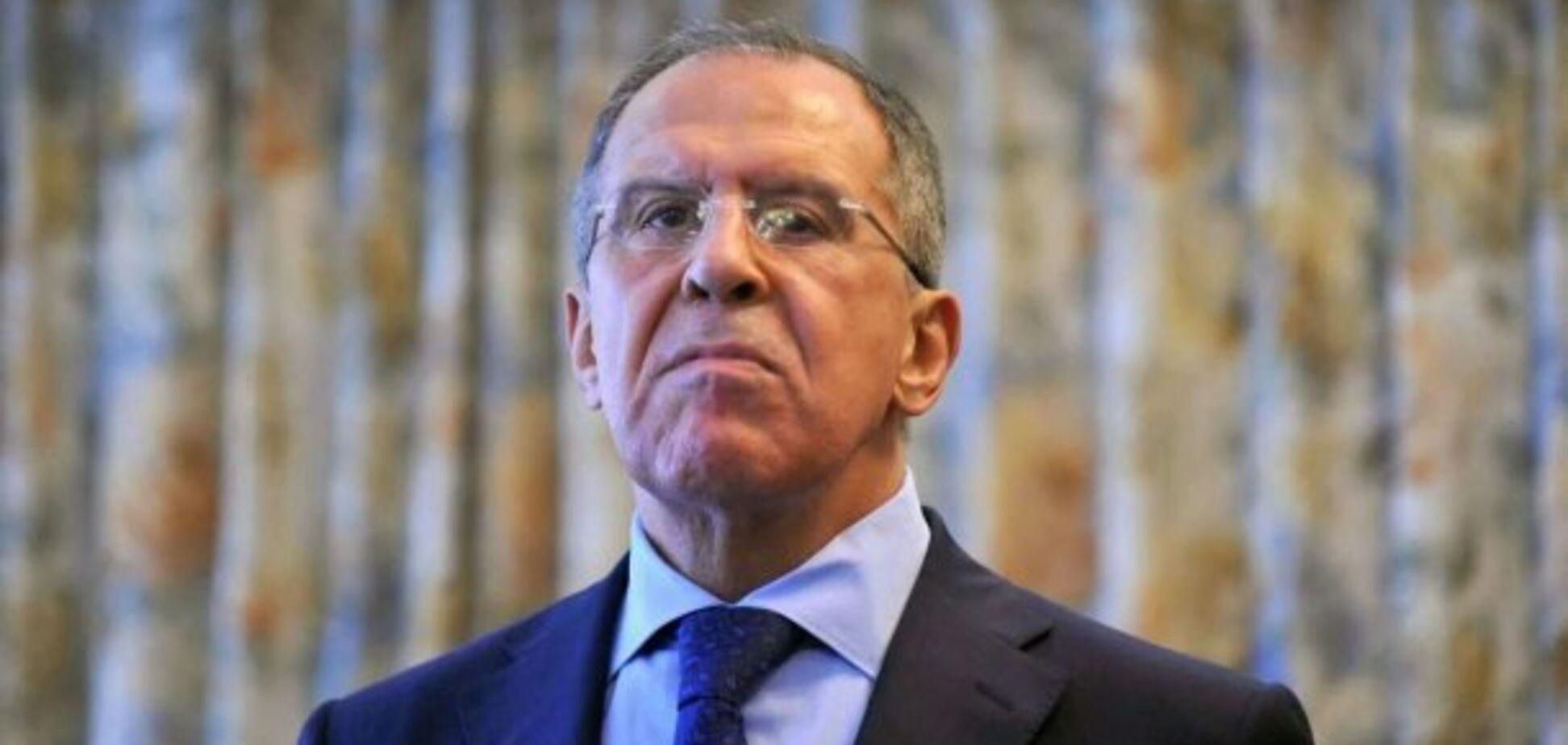 Лавров звинуватив Україну в підготовці 'силового сценарію' на Донбасі