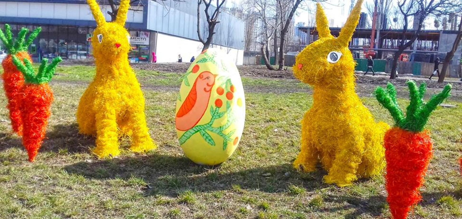 Великодня творчість 'Київзеленбуду': колоритні фото
